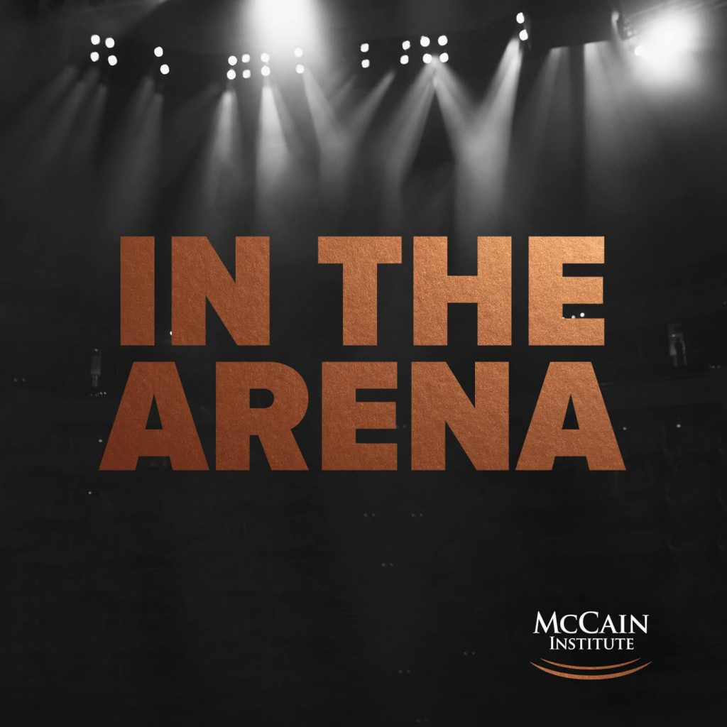 sales podcast in the arena
