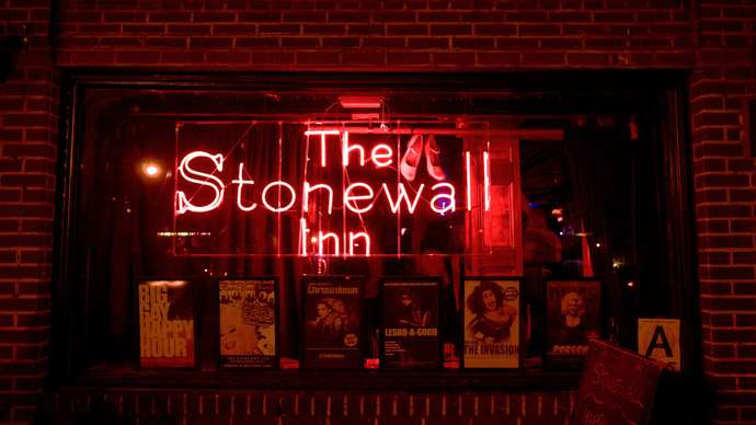 This is an image of Stonewall Inn taken from the outside.