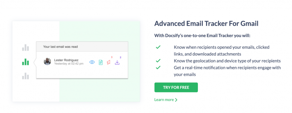 This image shows the different things you can achieve by using the Docsify chrome extension.
